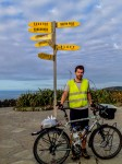 Stefan at Cape Reinga